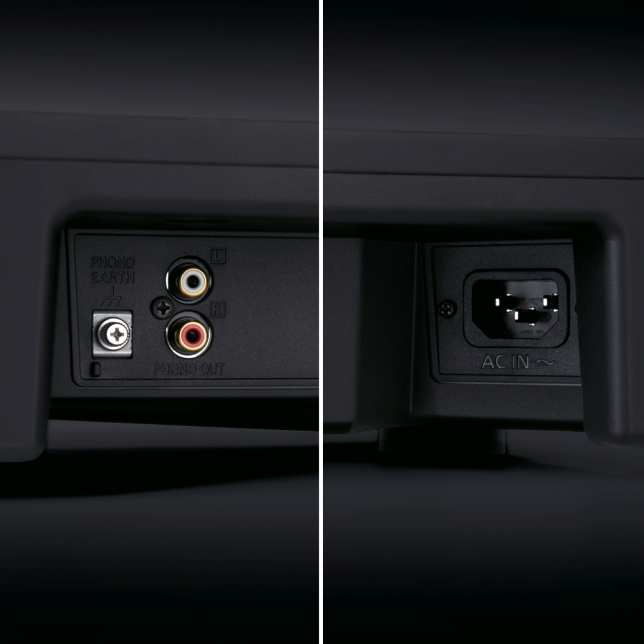 Photo of Power / Phono Cable Terminals