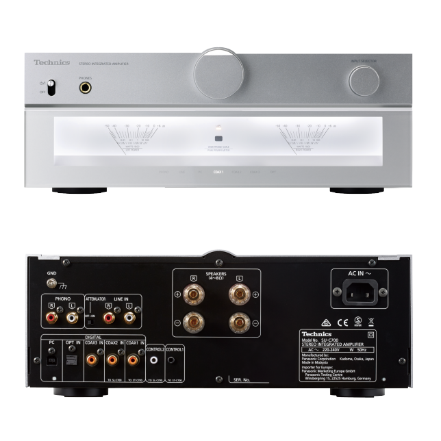 Photo de Amplificateur intégré SU-C700