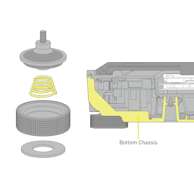 Graphic of High Damping Insulator,Graphics of High Rigidity Cabinet