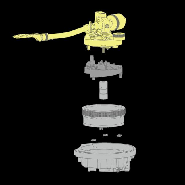 Graphic of Tonearm
